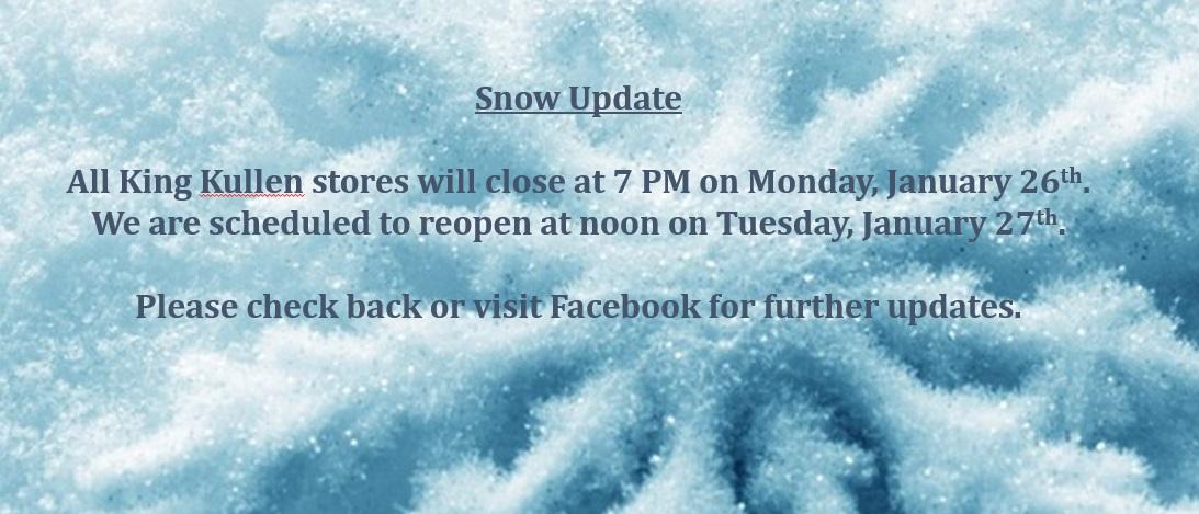 Snow Updates