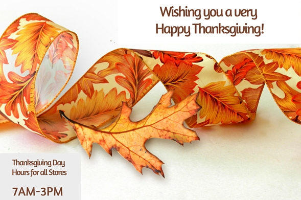 Thanksgiving Hours 2015