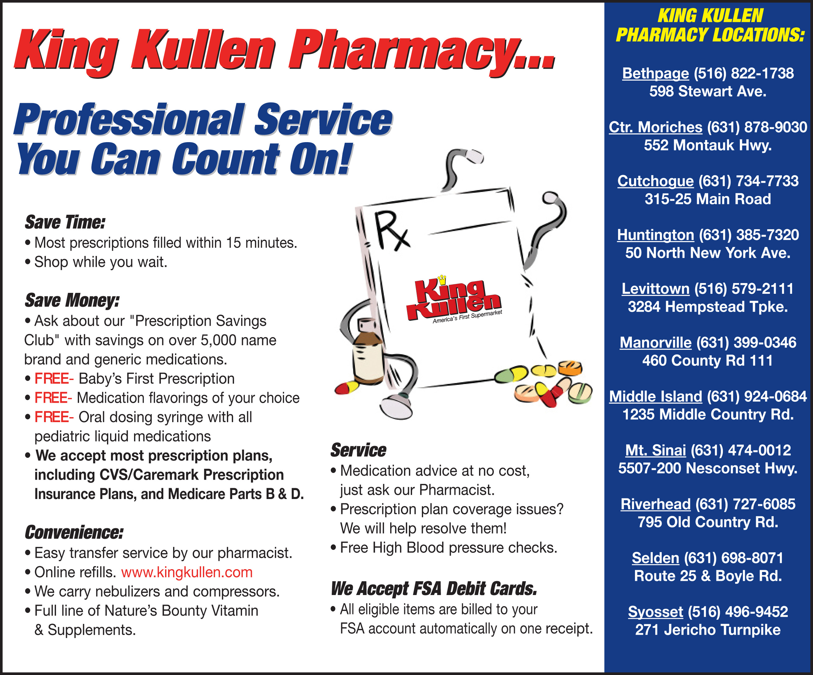 KKG-5828 Pharmacy Ad
