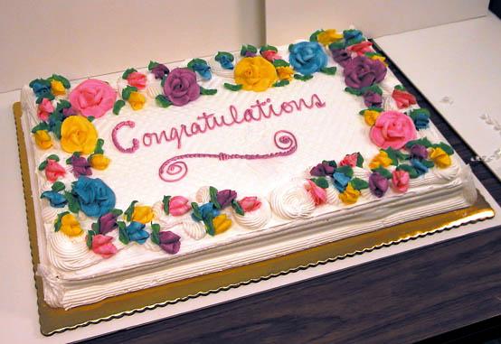 Congratulations Sheet Cake King Kullen