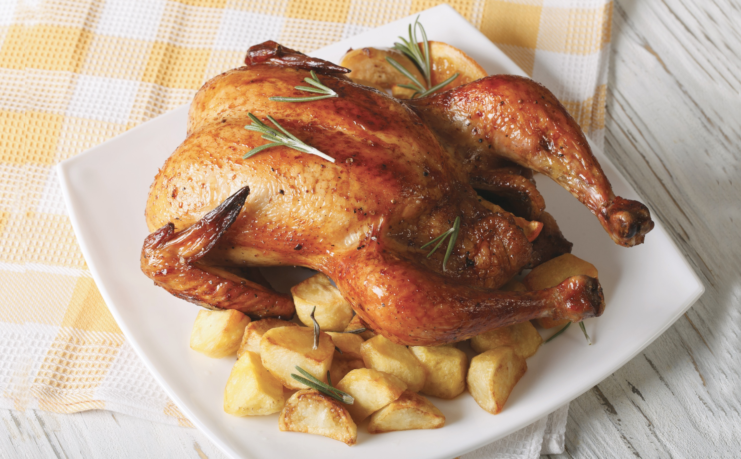 rotisserie chicken & sides, available at King Kullen