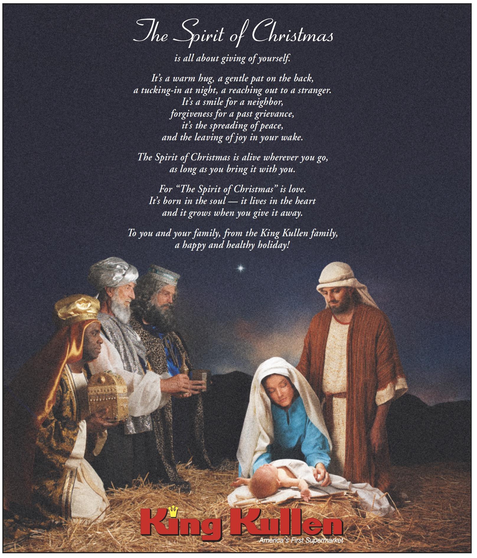 Merry Christmas King Kullen