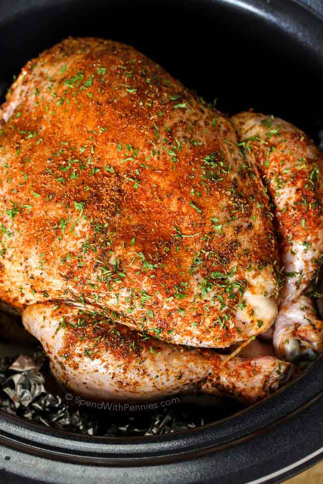 Precisely Cooking chicken breast in crock pot