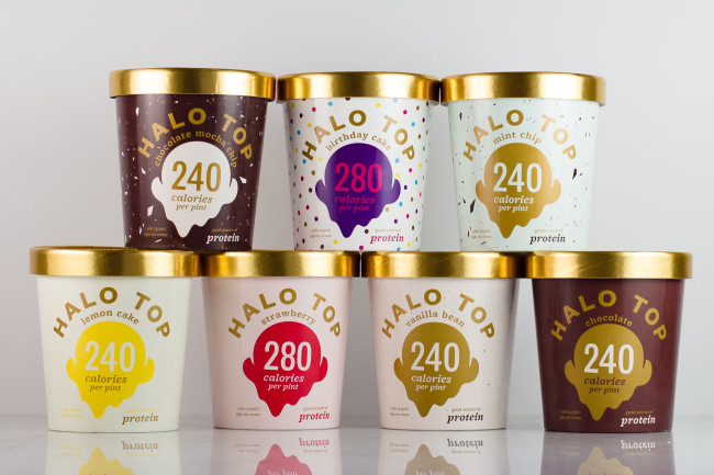 New Product Halo Top Ice Cream