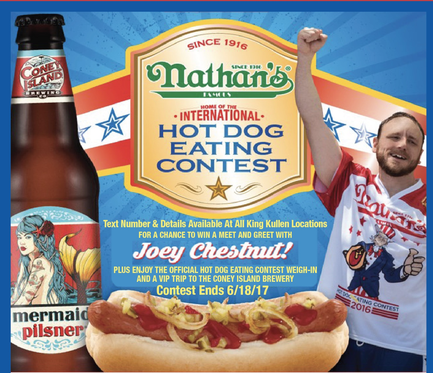 Win A Meet Greet With Joey Chestnut And Vip Trip To The Coney