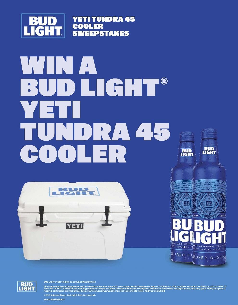 Coors light fridge giveaway sweepstakes